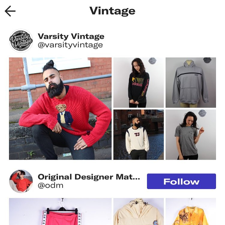 Be sure to go over to @depop and find us as a suggested seller in their Vintage section! Big moves #Vintage #menswear #clothing #vintageclothing #style #depop #reseller #thrifting #flipping #fashion