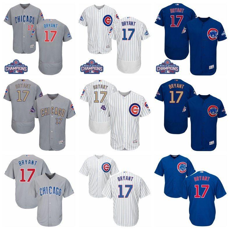 a732a085f85 MLB Men s Chicago Cubs Kris Bryant Jerseys – Retro Nalia