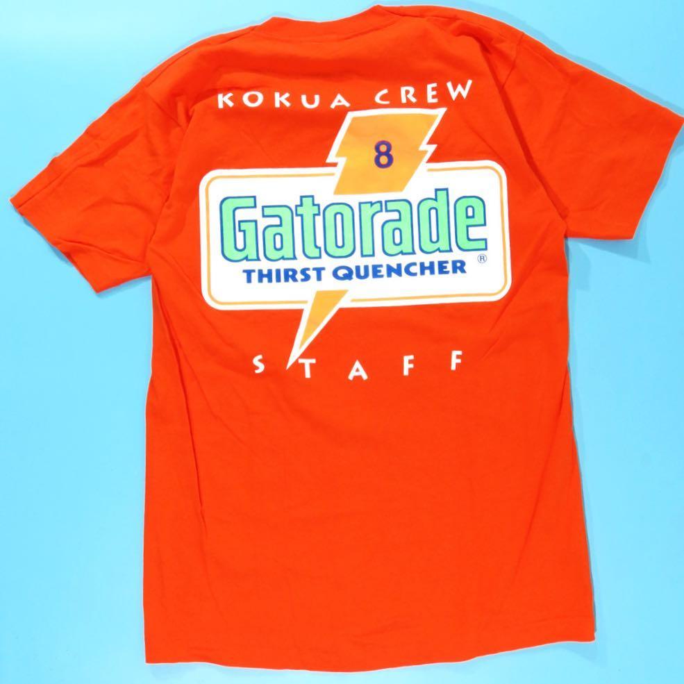 1990s Ironman Gatorade Orange T-Shirt Large • 5starvintage.com